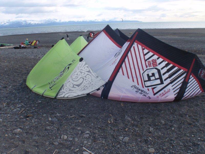 Kites on the beach 2