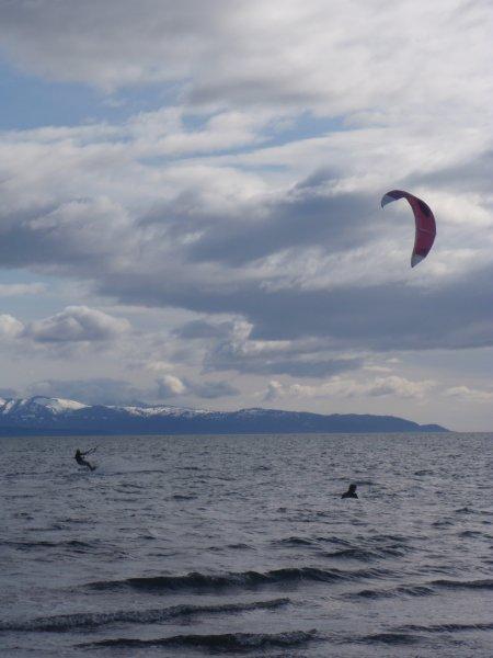Kite Boarding at Mariner\'s Park