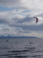 Kite Boarding at Mariner\'s Park