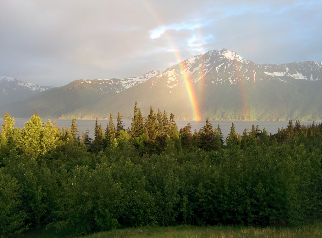 Turnagain Arm Rainbow.